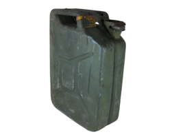 Oude leger jerrycan