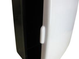 Badkamerkastje zwart/wit