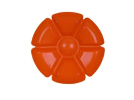 Snackschaal oranje