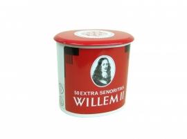 "Sigarenblik ovaal ""Willem II"""