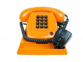 Retro PTT  telefoon oranje