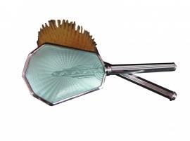 Haarborstel Art Deco - Set van 2