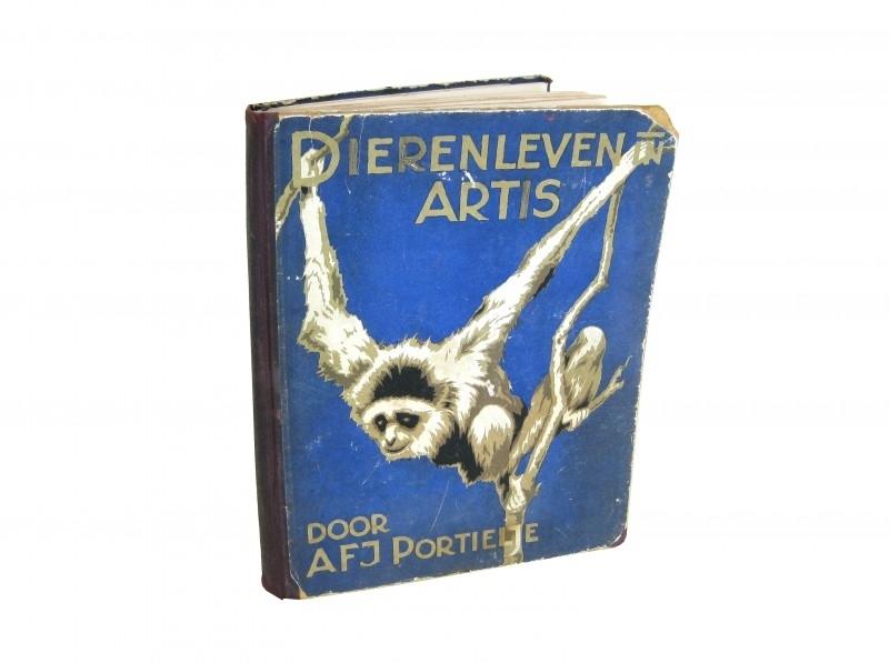 Verzamelboek Dierenleven in Artis 1939