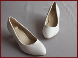 Bruidsmeisjes schoenen ivoor Maat 28 t/m 35 (350)