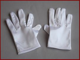 Jongens handschoenen wit (98)