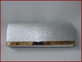 Bruidstasje / Avondtasje / Clutch Zilver (733)