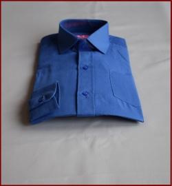 Jongens overhemd Helder Blauw (264)