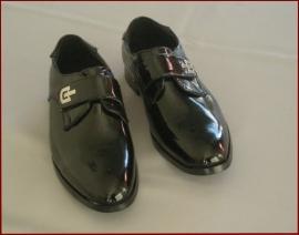Bruidsjonker schoenen zwart lak Maat 25 t/m 41 (329)