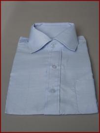 Jongens overhemd licht blauw (252)