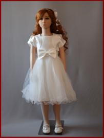 Communie-/bruidsmeisjes jurkje Lily Maat 86 t/m 152 (A125)