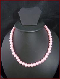 Parel ketting roze (837)