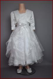 Bruidsmeisjes / communie jurk Fenna  maten 86 t/m 152 (A103)