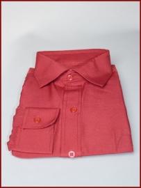 Jongens overhemd bordeaux rood (255)