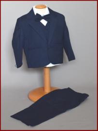 Babykostuum donker blauw 5- delig baby-/peuter kostuum Ruud Maat 74/92 (284)