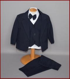 Baby kostuum Donkerblauw 5-delig Kars Maat 68 t/m 96 (224)