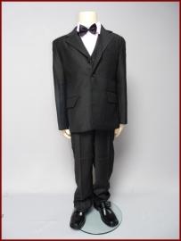 Jongens Kostuum Zwart  5-delig Rick Maat 92 t/m 188 (204)