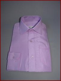 Jongens overhemd Lila (257) De kleine overhemden vallen groot!