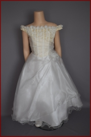 Bruidsmeisjes / communie jurk Lotte  maten 86 t/m 164 (A105)