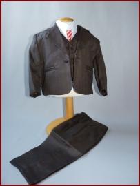 Baby kostuum Bruin 5-delig Yvo Maat 68 t/m 92 (226)