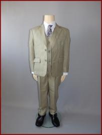 Jongens Kostuum Zandgroen 5-delig Stan Maat 92 t/m 170 (212)