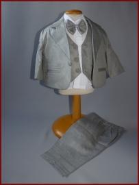 Babykostuum grijs 5-delig Tom  Maat 68 t/m 98 (219)