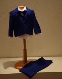 Babykostuum fel blauw 5- delig Ravi Maat 74/92 (248)