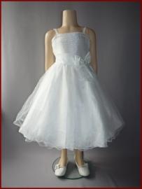 Bruidsmeisjes jurk Maat 86 t/m 116 Fieke  ALLEEN NOG MAAT 4 (153)