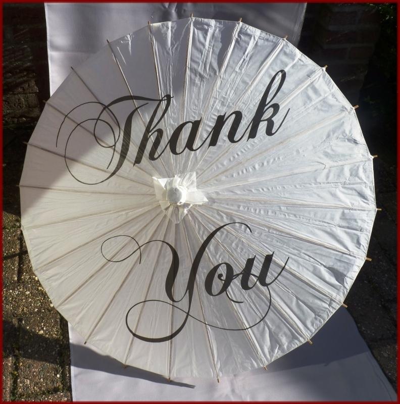 Bruidsparaplu Thank you (59)