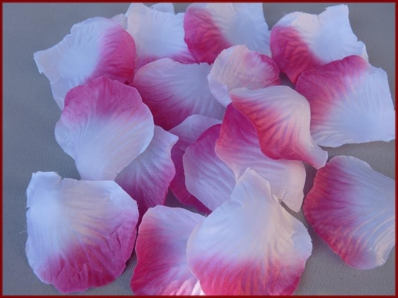 Strooiblaadjes Roze-Wit (15)