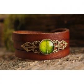 """Leaf"" Armband Bruin"