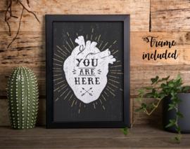 """Heart"" Print"