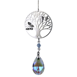 Tree of Life Raamkristal