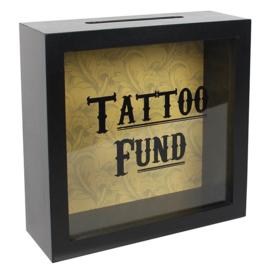 """""""Tattoo Fund"""" spaarpot"""
