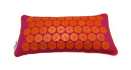 Flowee Spijkermatkussen Fuchsia/Oranje