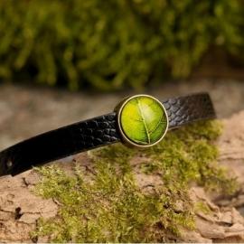 """Green Leaf"" Armband smal"
