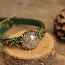 """Make a wish"" Armband groen"