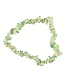 Splitarmband Chrysopraas