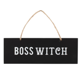 Boss Witch bordje
