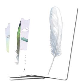 Divine Feather Messenger Orakelkaarten