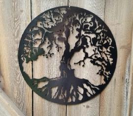 Metalen Levensboom Muurdecoratie
