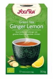 "Yogi Tea ""GREEN TEA GINGER LEMON"""