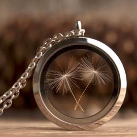 Dandelion halsketting