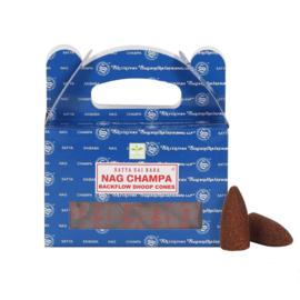 Backflow Wierookkegels Nag Champa