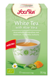 "Yogi Tea ""WHITE TEA WITH ALOE VERA"""