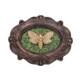 Goth Moth Schilderij