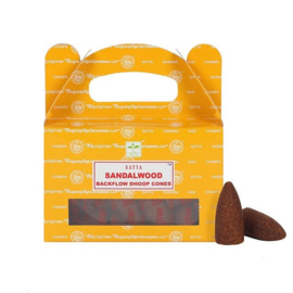 Backflow Wierookkegels Sandalwood