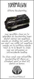 Armband Toermalijn incl. Edelsteenkaartje