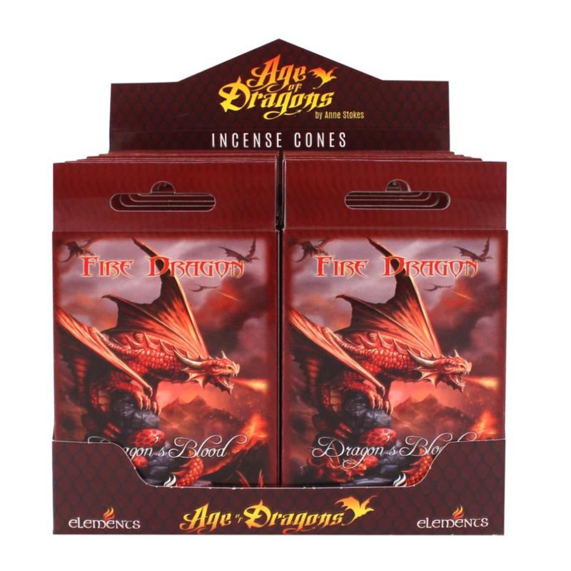 Wierookkegeltjes Fire Dragon