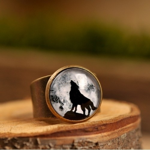 "Ring ""Wolf"" koper"