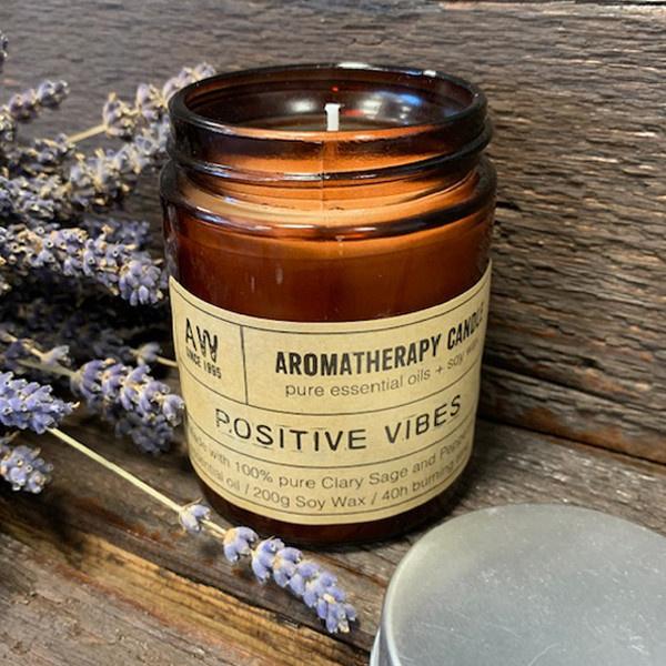 Positive Vibes Aromatherapie Sojakaars
